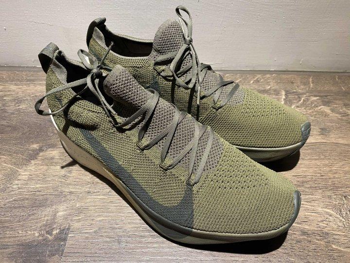 NIKE Vapor Street Flyknit 軍綠 頂級 全馬慢跑鞋
