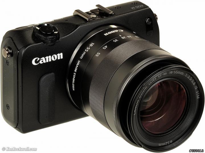 CANON EOS-M+18-55mm STM鏡(入門機)(黑色)