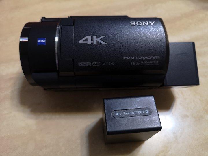 Sony FDR-AX40 4K 錄影機 保內公司貨