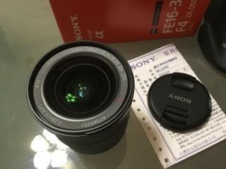 sony E環16-35mm F4 za鏡頭