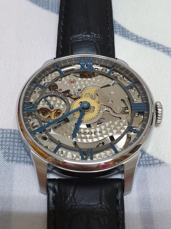 TISSOT T-Classic 天梭 羅馬精湛 鏤空 機械 手動上鍊 手錶