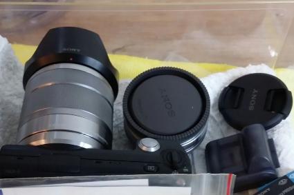 非常新  Sony NEX-5 NEX5 雙鏡組