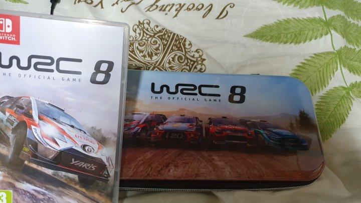 二手遊戲 WRC8 世界拉力賽(附首批特典收納包)