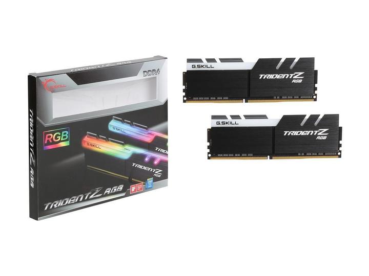 芝奇 幻光戟 16G*2 DDR4-3200 CL15 (黑銀) (F4-3200C15D-32GTZR)