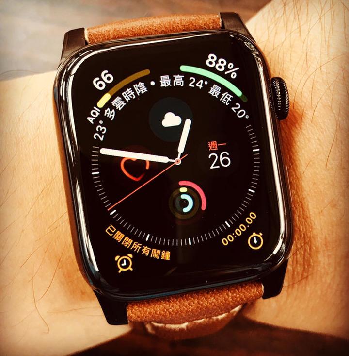 售Apple Watch Series 4(GPS+網路)44mm 不鏽鋼黑
