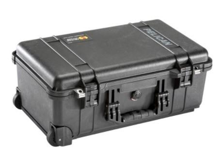 美國 PELICAN 1510 氣密箱 登機箱 含輪座 黑色