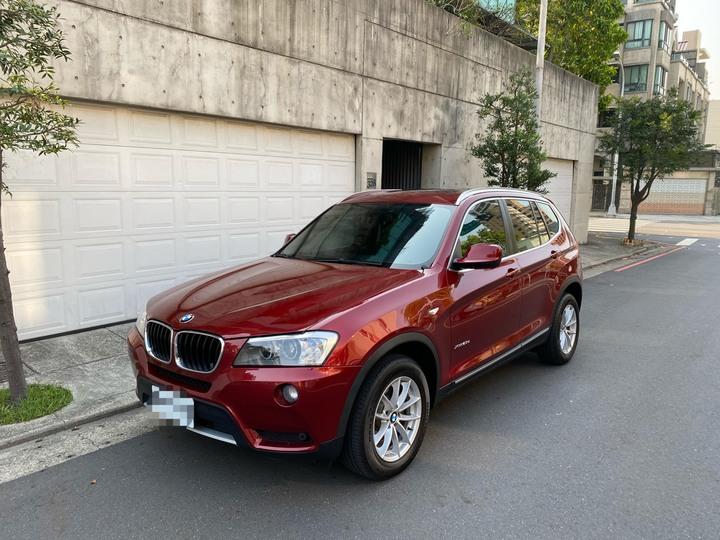 2012年出廠 BMW X3 20D 柴油 全景天窗