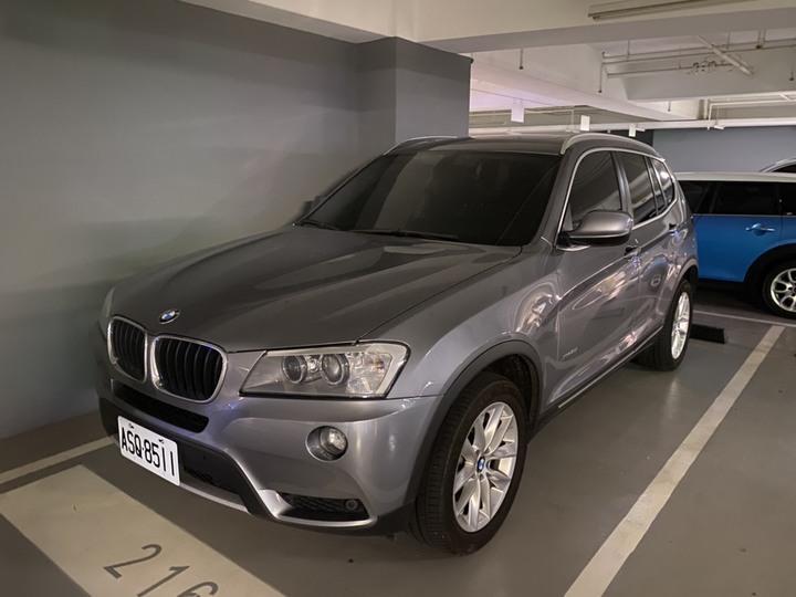 自售 BMW X3 20i 2014年式 里程55000/車庫車/原廠保養
