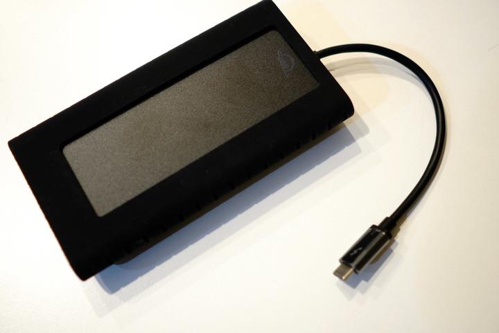 OWC Envoy Pro EX 2TB(高速外接 NVMe M.2 SSD 最高可達2800MB/s)剪輯神器
