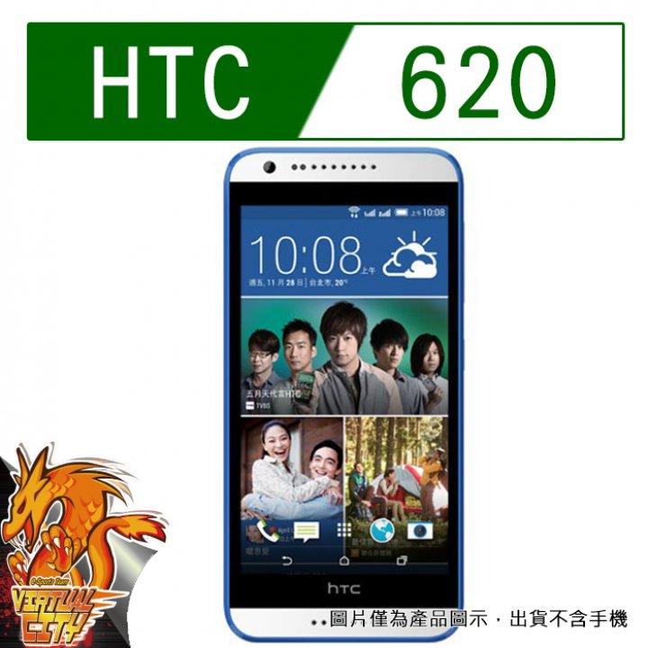 【桃園-虛擬城市】HTC 620-9H 玻璃膜螢幕保護貼