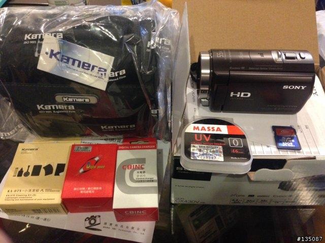 SONY數位攝影機 CX430V 百分百全新