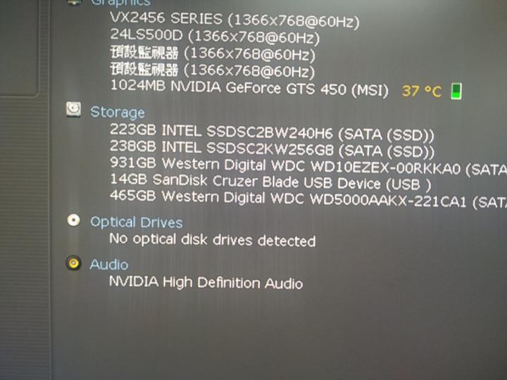Viewsonic VX2456Sml 24 吋 HDMI 螢幕 1080  HD  LED 顯示器
