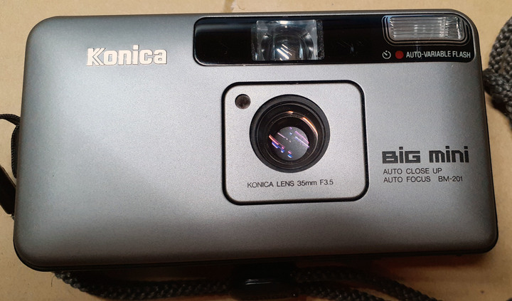 Konica BiG mini BM-201 中古底片相機