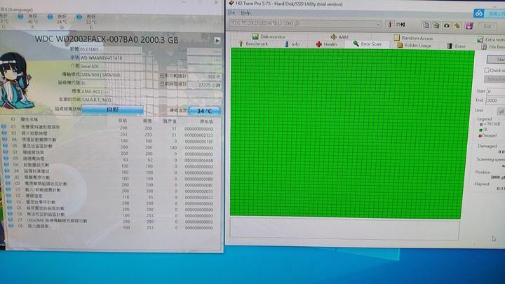 WD 黑標 2TB SATA 3.5吋