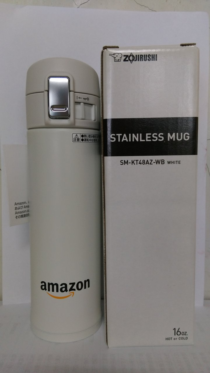 象印 amazon  SM-KT48AZ-WB 保溫保冷瓶 全新