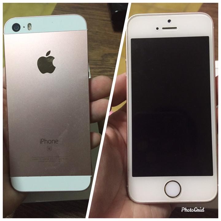 iPhone SE 64G 玫瑰金