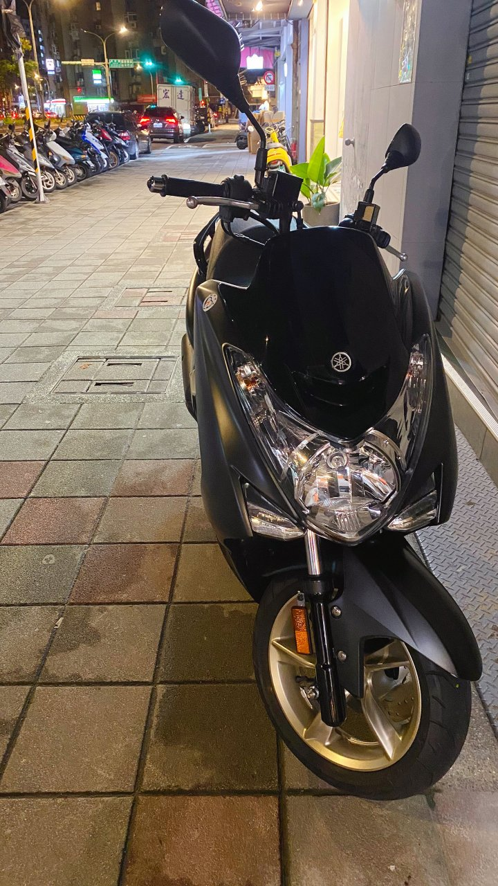 SMAX 155cc 消光深灰黑 超低里程