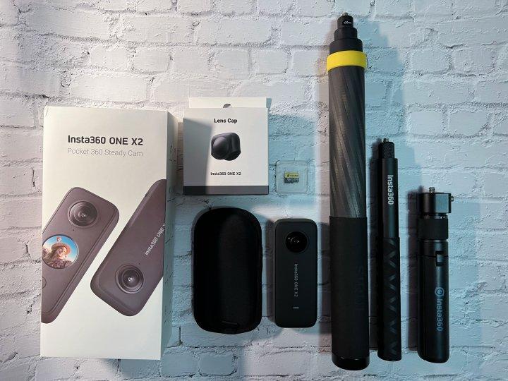 Insta360 ONE X 2 全景相機 (九成新,狀況極優,台中面交,可收振興券)