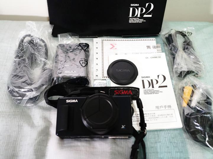 [售] SIGMA DP2 數位相機 (41mm f2.8)