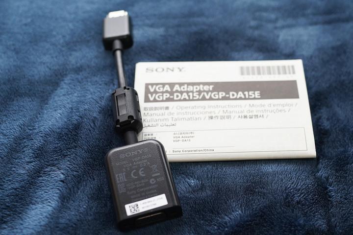 [售] 全新 SONY VGP-DA15 HDMI轉VGA連接線