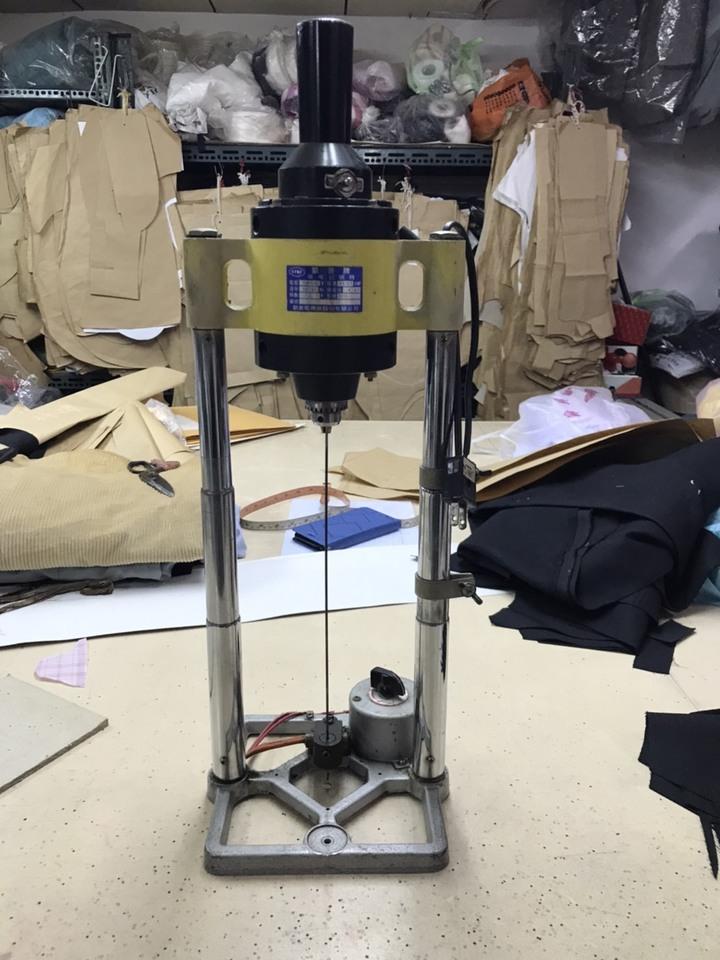 凱普牌 鑽布記號機 鑽孔機(裁剪記號機)