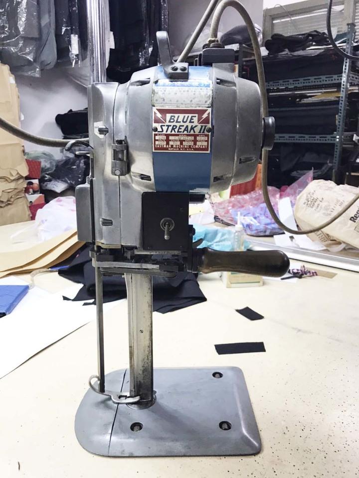 美國伊士曼EASTMAN Blue Streak  II 629 9吋直立電剪 裁剪機 裁布機刀片