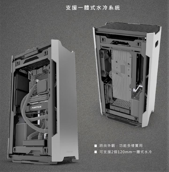 追風者 Phanteks Enthoo Evolv Shift 顯卡長33.5 玻璃透側 ITX 機殼 正反面顯示卡安裝