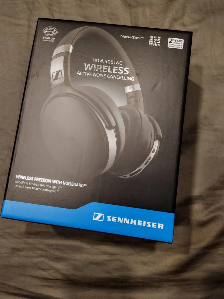 【降價了】內行的才懂 專業高音質藍牙降噪耳機 Sennheiser hd 4.50btnc