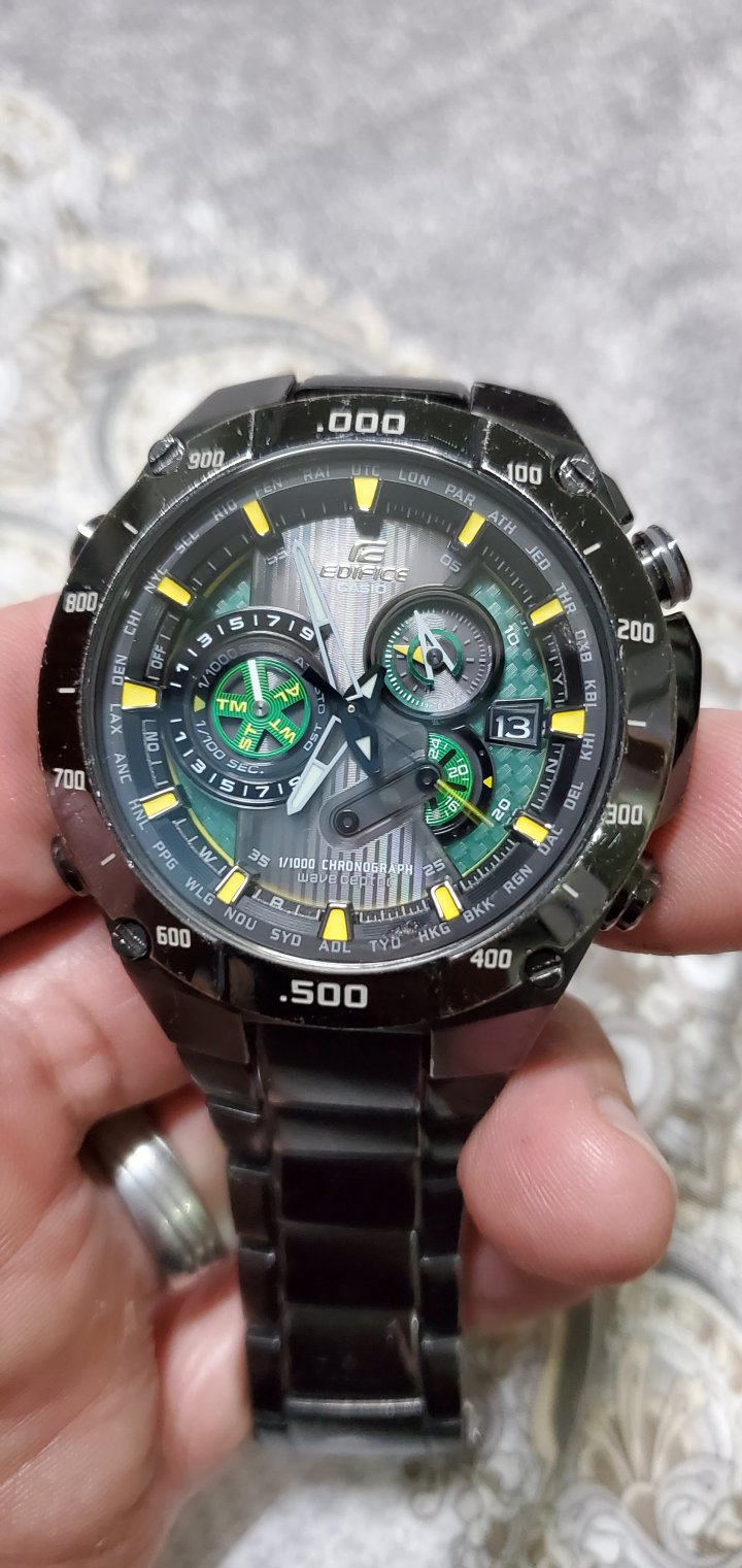 CASIO EDIFICE EQW-M1100太陽能 電波