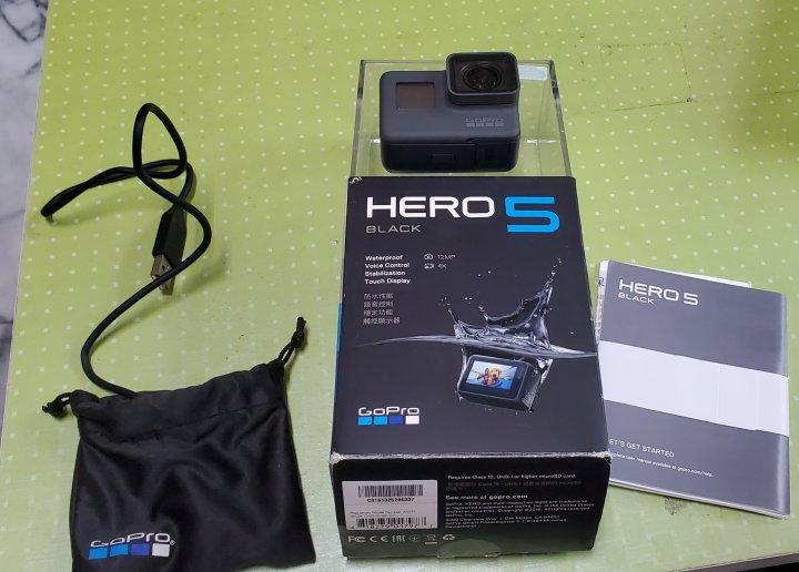 GOPRO HERO5 4K運動攝影機