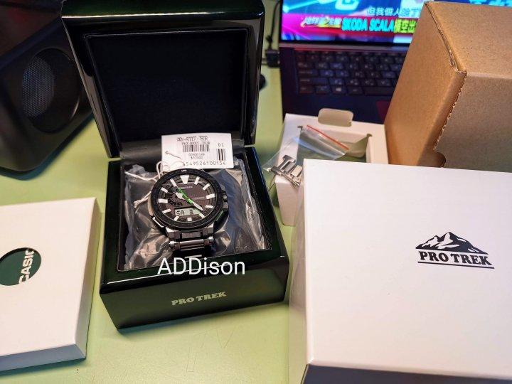 CASIO PRO TREK頂級錶款 PRX-8000T (降價出清)