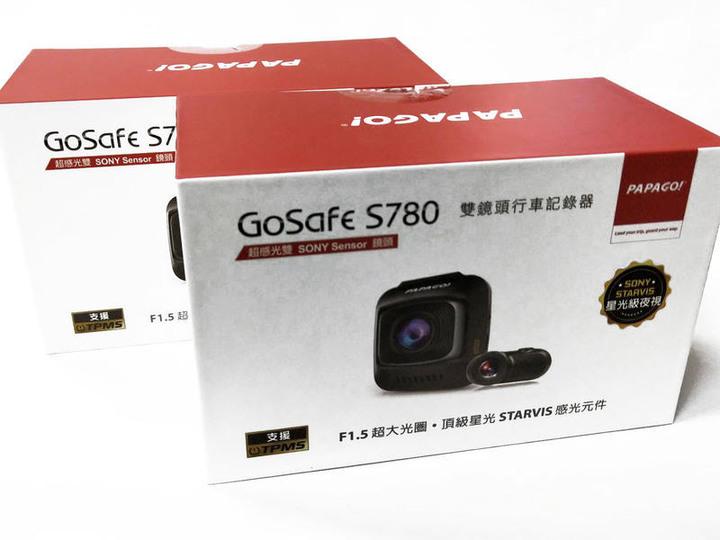 PAPAGO! GoSafe S780【送16G】星光級 STARVIS 雙鏡頭 行車記錄器