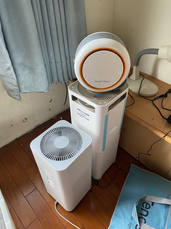 BALMUDA 小米 小漢堡 三台空氣清淨機 ((內詳)