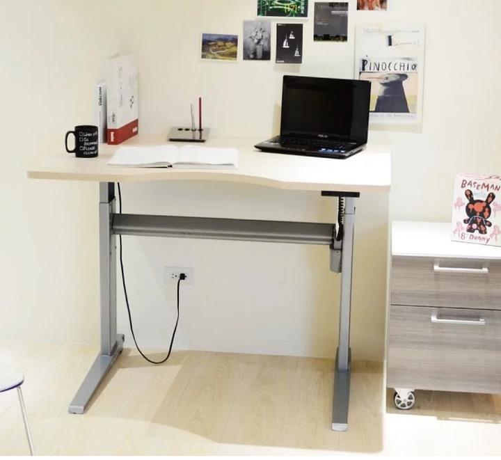 flexiwork 康萊 501-17 人體工學升降桌/有輪子及藏線盒