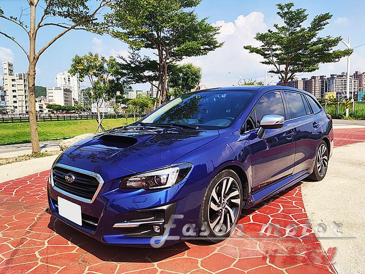 新進車輛2019年SUBARU Levorg GT-S ES旅行車 渦輪增壓 AWD ACC主動跟車 車道偏離 CarPlay 7安 低里程 豪華美車 全額貸款 可議價