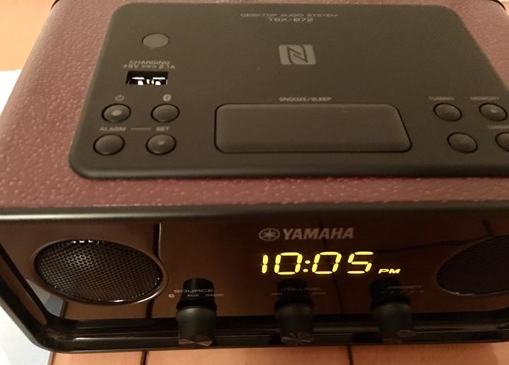 (二手)Yamaha 山葉 桌上型音響 TSX-B72  紅色 近全新