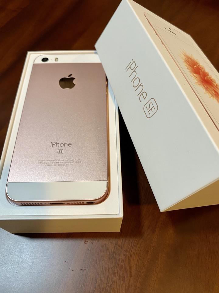 iPhone se 16g 玫瑰金 功能均正常  近全新