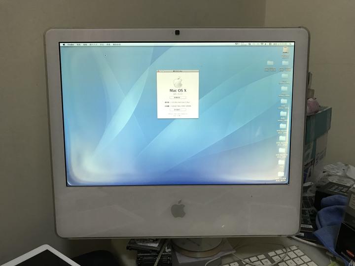 "Apple iMac 20-Inch ""Core 2 Duo"" 2.16GHz 經典絕版機"