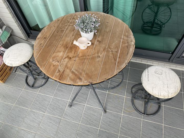 歐式鄉村風桌椅組 超低價出售