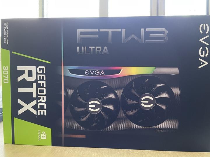 EVGA GeForce RTX 3070 FTW3 ULTRA GAMING LHR 一元起標