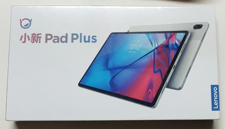 聯想(Lenovo)小新Pad plus 11英寸 全面屏 6GB+128GB WIFI白 +原廠保護套+玻璃保護貼 全新未拆