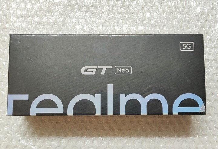 realme GT Neo 天璣1200 黑 12GB+256GB 全新未拆 送玻璃保護貼和保護殼