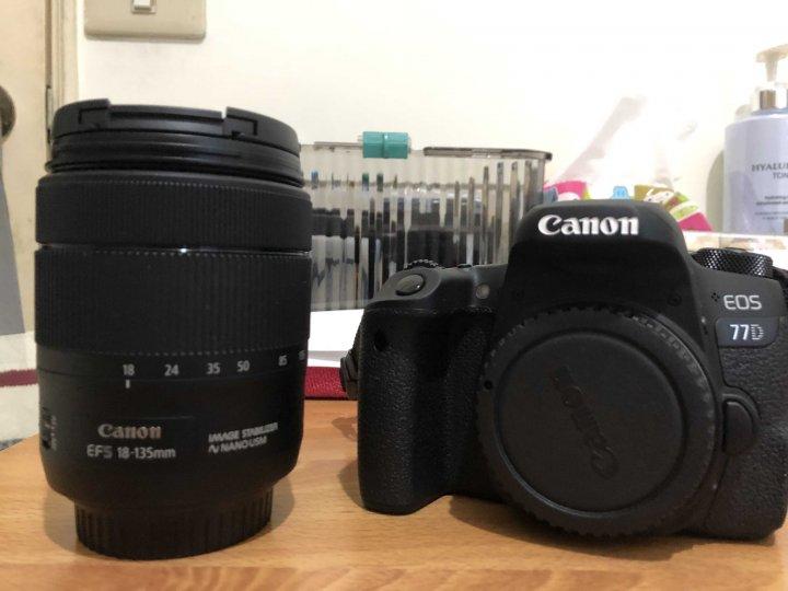 公司貨 保固中 Canon 77D+EF-S 18-135mm f3.5-5.6 is usm