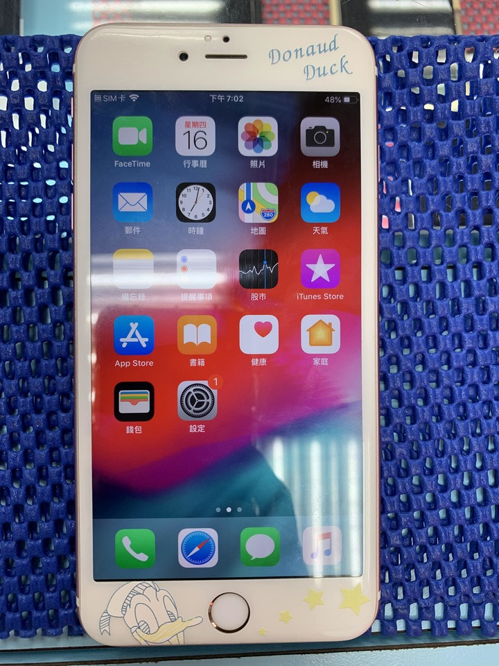 iphone 6s  PLUS 128GB 玫瑰金
