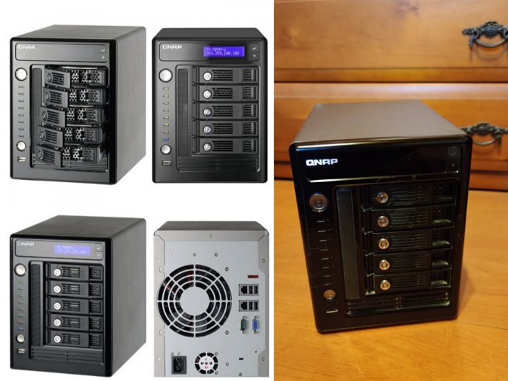 QNAP威聯通 TS-509 Pro NAS網路儲存伺服器 (支援雙網路系統)