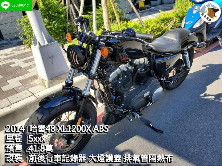 哈雷48 XL1200X ABS