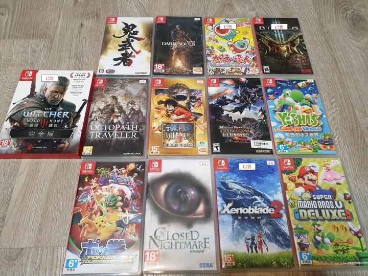 [NS ] 售遊戲片多款