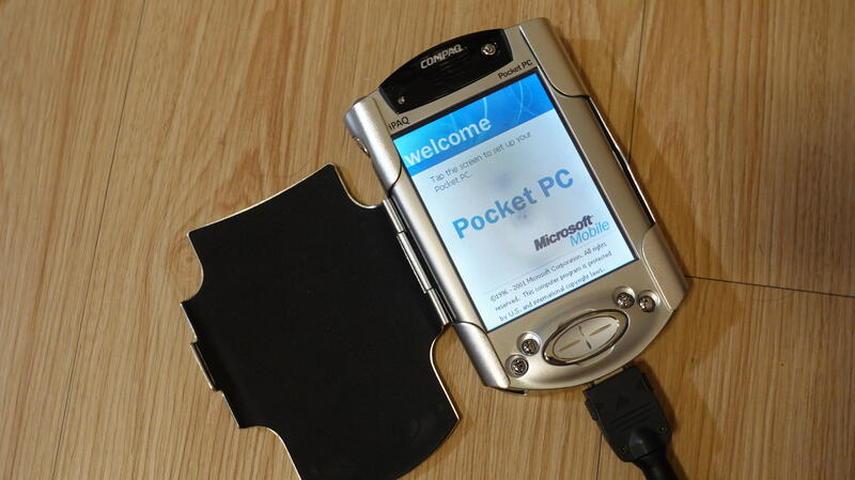 懷舊電子設備 COMPAQ iPAQ PDA POCKET PC 3970