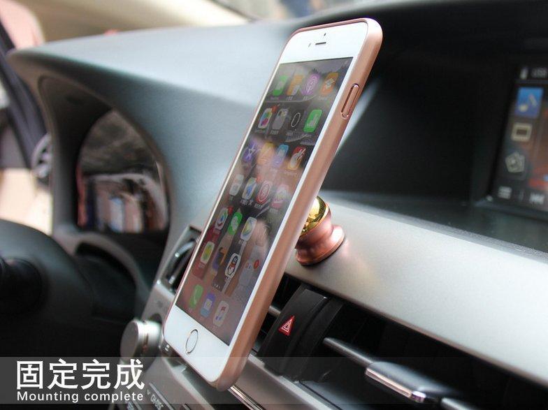 【承涼百貨】iphone7 7Plus 車用磁吸手機殼、蘋果、APPLE、手機導航、保護套、支架、清水套、矽膠套、透明殼
