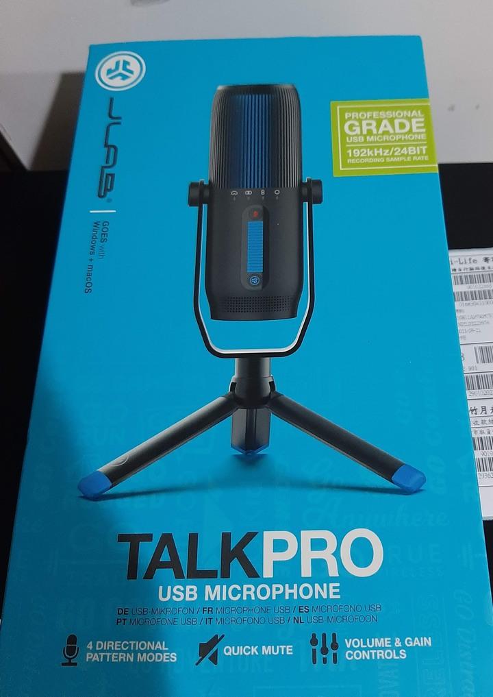 JLab Talk Pro USB Microphone 電容式麥克風